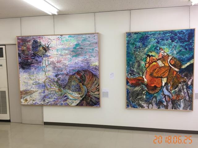 水上卓哉作品展に行ってきました。in名古屋銀行小田井支店