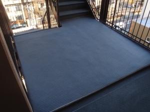 Kマンション階段床張替え工事