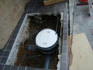 外部排水桝修理